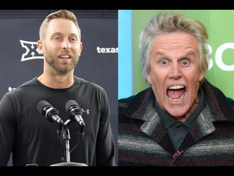Kliff Kingsbury Is Not Scared of OSU's Giant Gary Busey Face