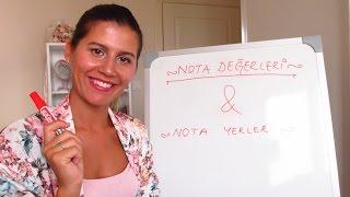 Ders 1 Nota Değerleri & Nota Yerleri