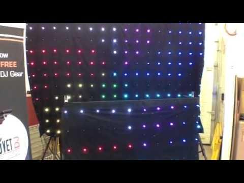 Chauvet expo 2013 at Metro Sound & Lighting motion - YouTube