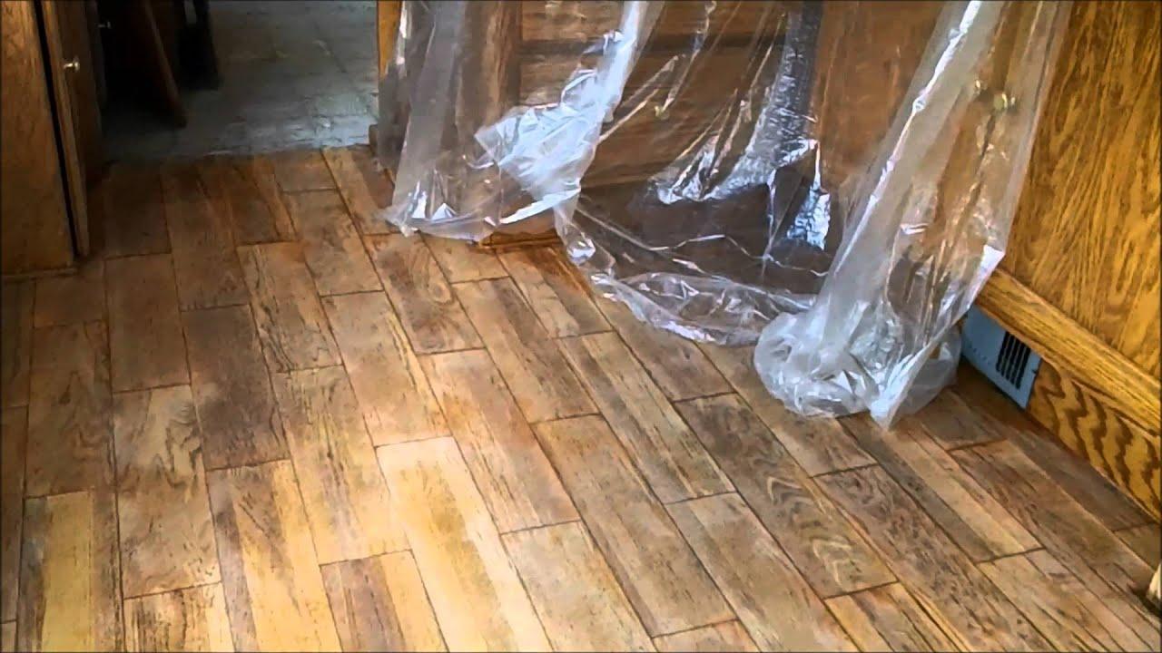 Refurbishing A 1993 Monaco Dynasty Motorhome Hardwood Floor Refinished