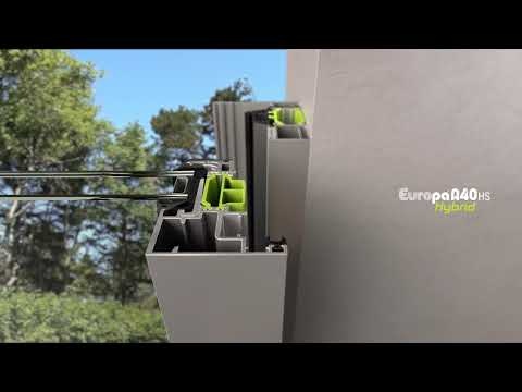 Europa Hybrid A40 SI/ HS - High Performance Thermal Break System For Doors & Windows