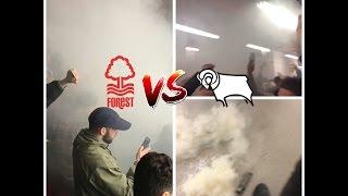 FOREST VS DERBY AWAY DAY VLOG!