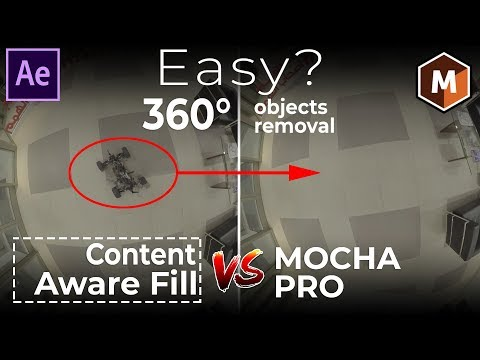 Where's the Camera?! Content Aware Fill - Seamlessly Remove Objects In 360° VR Video