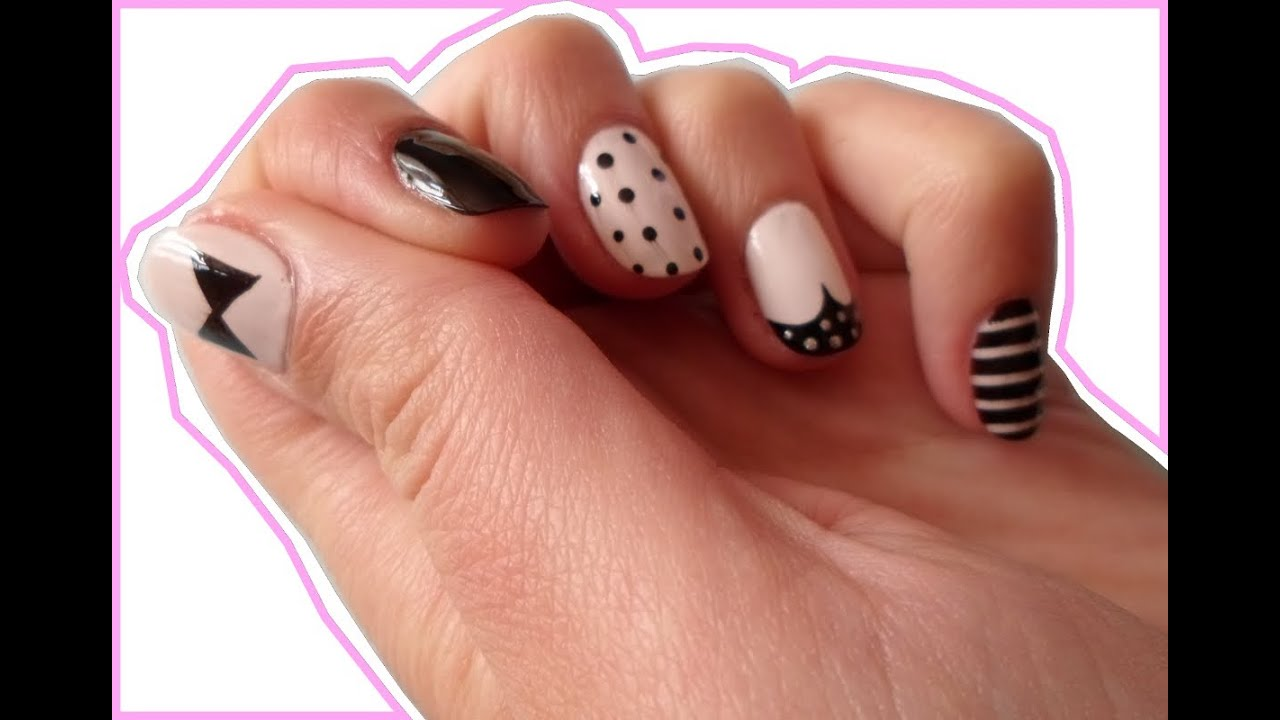 Diy Nails For A Party Nails For A Holiday Paznokcie Na Lato