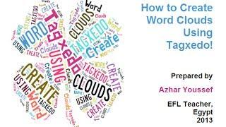 كيفية إنشاء كلمة الغيوم باستخدام Tagxedo?