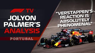 Max Verstappen's Brilliant Restart | Jolyon Palmer's F1 TV Analysis | 2021 Portuguese Grand Prix