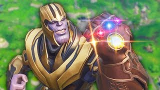 THANOS INFINITY GAUNTLET MODE | Fortnite Battle Royale