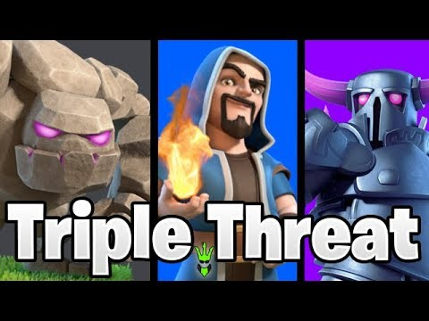 GoWiPe Gets The Loots! - Triple Threat Event Army - Clash of Clans - TH9 DE Farming