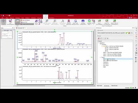 Mnova MS - Process, analyze and report Mass Analysis Data