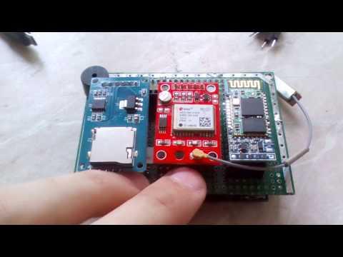 GPS трекер, с записью на карту памяти на базе  NEO-6 + Arduino
