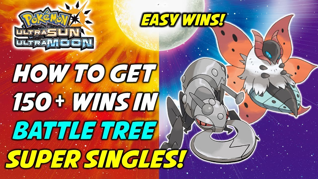 How to Get EASY WINS in Battle Tree Super Singles! Pokemon Ultra Sun & Moon  Battle Tree Guide