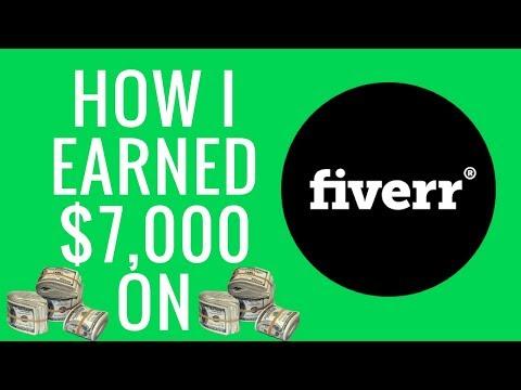 How I EARNED $7,000+ on Fiverr 🤑