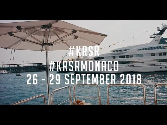 The KRSR team heads back to the Monaco Yacht Show 2018