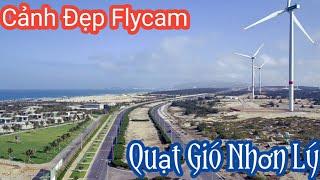 #2 Cảnh Biển Trung Lương - Quạt Gió Nhơn Lý - Đá Tượng Tân Thanh - Bằng Flycam Cực Đẹp.