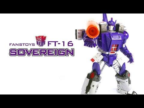 KL變形金剛玩具分享123 第三方 MP級別 格威龍 Fans Toys FT-16 Sovereign aka Galvatron