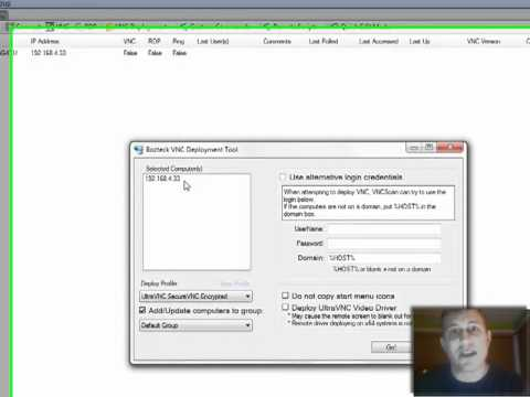 Deploy UltraVNC with SecureVNC Plugin - YouTube