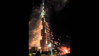 Burj khalifa 2014 eve..