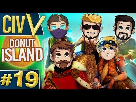 Civ V: Donut Island #19 Nucleanium