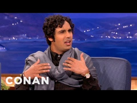 Kunal Nayyar Wants To Be Hairless As An Olympic Swimmer  CONAN on TBS