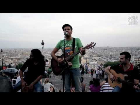 Paris Street Music : Algerian song at Montmartre #2 (HD)
