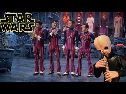 We are number one but it's the cantina band - Robbie Rotten