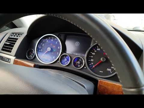 Кодирование панели VW Touareg отключение предупреждения о износе тормозных колодок