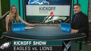 The Kickoff Show: Philadelphia Eagles vs. Detroit Lions | 2019 Week 3