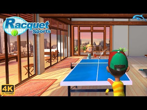Racquet Sports - Wii Gameplay 4k 2160p (DOLPHIN)