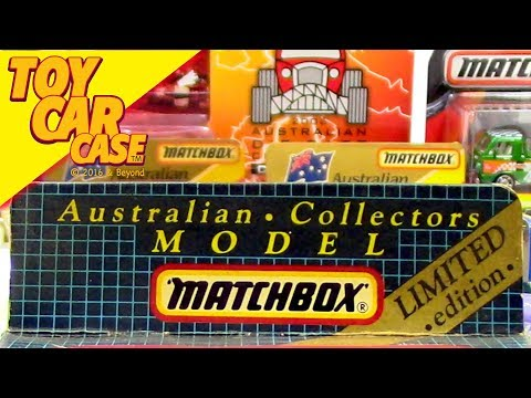 Australian Collectors Models Limited Edition Cars Toy Car Case