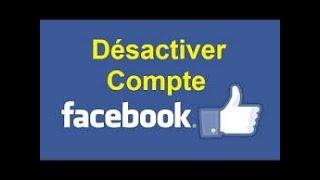 Comment Desactiver votre compte Facebook temporairement en moins de 3 minutes