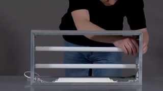 Изготовление светового короба на алюминиевом профиле(Световой короб на алюминиевом профиле с люминесцентными лампами - самое бюджетное рекламное решение. Несмо..., 2015-12-02T15:17:43.000Z)