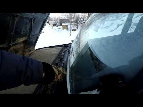 """ваз 2104 зимний """"тюнинг"""". Утепление авто! картонка перед радиатором?"""
