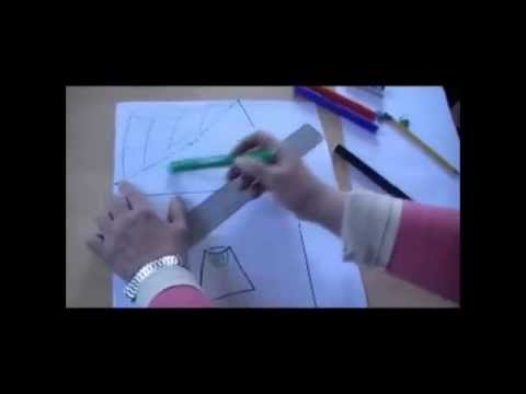 e1a2492e7 Falda Materna 4 Modelos - YouTube