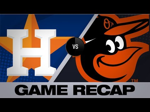 Astros explode for 23 runs on 25 hits in big win | Astros-Orioles Game Highlights 8/10/19