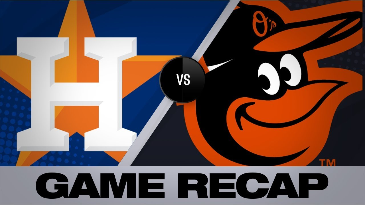 Download Astros explode for 23 runs on 25 hits in big win | Astros-Orioles Game Highlights 8/10/19