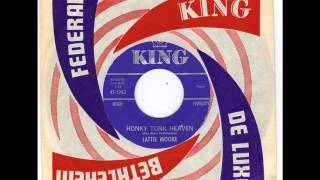 LATTIE MOORE -  LONESOME MAN BLUES -  HONKY TONK BLUES  - KING 5762