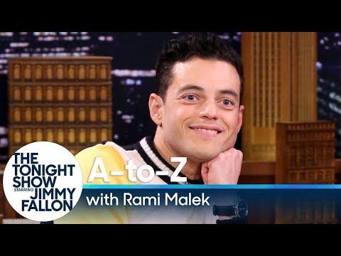 A-to-Z with Rami Malek