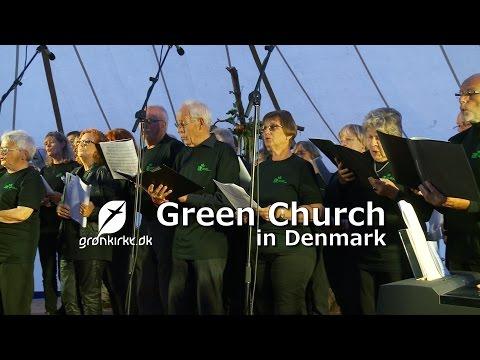 Green Church in Denmark