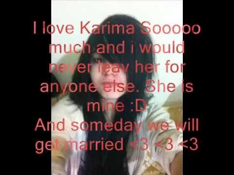 I love you karima