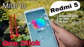 How To Install MIUI 10 On Xioami Redmi 5 🔥 🔥