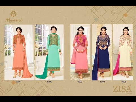 Latest Indian Salwar Kameez Collection 2017 || Meera Trendz-LLP || Zisa Vol-44