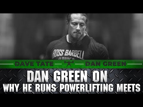 Dan Green on Why He runs Powerlifting Meets | elitefts.com