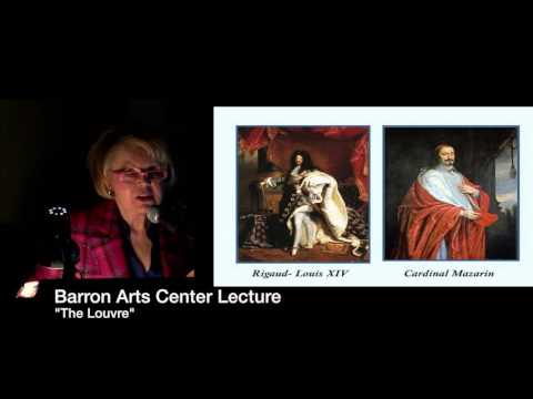 """Barron Arts Center: Taste of the Arts Lecture Series - """"The Louvre"""" March 30, 2016"""