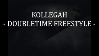 Kollegah - Doubletime Freestyle [Lyrics Video]