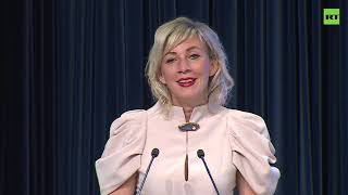 Мария Захарова на V Международном форуме русскоязычных вещателей — LIVE