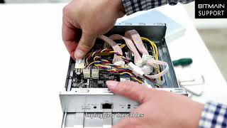 How to disassemble Antminer S17/S17Pro control board