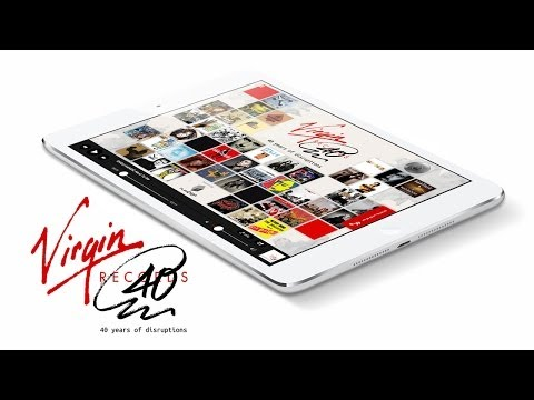 Virgin Records: 40 years of disruptions -- The whole story in immersive digital editions