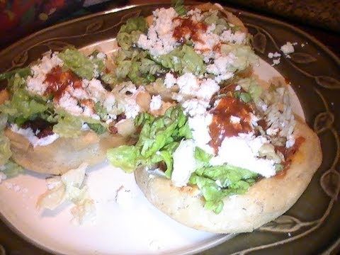 Sopes Mexicanos de Maza - YouTube