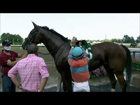 video thumbnail for MONMOUTH PARK 07-25-20 RACE 8