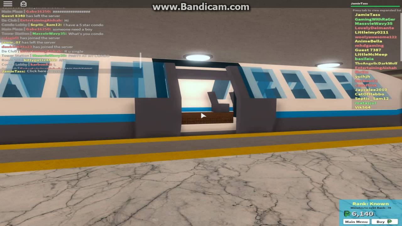 (ROBLOX) Automated Underground Metro Line (The Plaza Subway)